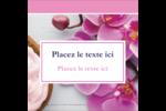 Glaçage et orchidée rose Étiquettes carrées - gabarit prédéfini. <br/>Utilisez notre logiciel Avery Design & Print Online pour personnaliser facilement la conception.