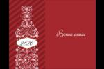 Bouteille de champagne en spirale Étiquettes rondes gaufrées - gabarit prédéfini. <br/>Utilisez notre logiciel Avery Design & Print Online pour personnaliser facilement la conception.