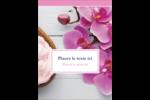 Glaçage et orchidée rose Étiquettes rectangulaires - gabarit prédéfini. <br/>Utilisez notre logiciel Avery Design & Print Online pour personnaliser facilement la conception.