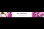 Glaçage et orchidée rose Étiquettes enveloppantes - gabarit prédéfini. <br/>Utilisez notre logiciel Avery Design & Print Online pour personnaliser facilement la conception.