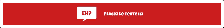 """1½"""" x 2½"""" Étiquettes ovales - Parlez-vous canadien eh? (Rouge)"""