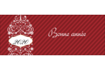 Bouteille de champagne en spirale Affichette - gabarit prédéfini. <br/>Utilisez notre logiciel Avery Design & Print Online pour personnaliser facilement la conception.