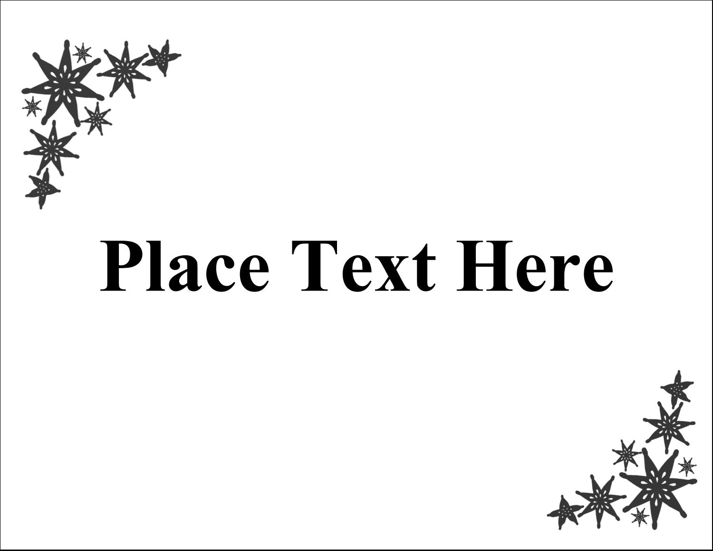 "5½"" x 4¼"" Postcard - Star Corner"