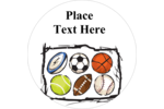 Whether you love baseball, basketball, soccer, hockey, football, tennis or all of them. Customize the pre-designed Sports Balls templates to create and design fun cards, labels and more showing off your love of the game.
