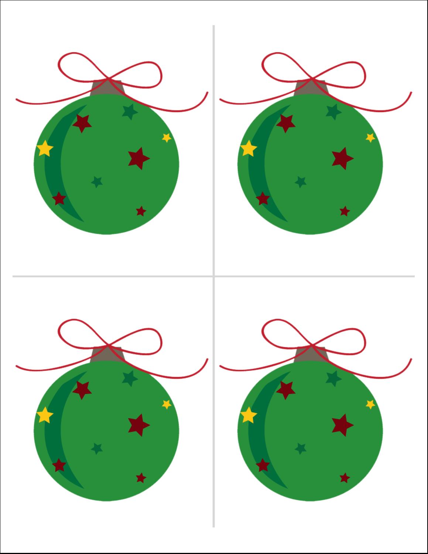 "8½"" x 11"" Magnet Sheets - Star Ornament"