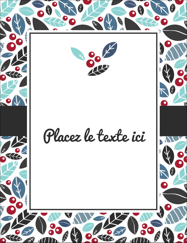 """5½"""" x 4¼"""" Carte Postale - Feuillu"""