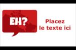 Parlez-vous canadien eh? Carte d'affaire - gabarit prédéfini. <br/>Utilisez notre logiciel Avery Design & Print Online pour personnaliser facilement la conception.