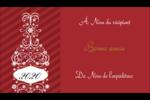 Bouteille de champagne en spirale Carte d'affaire - gabarit prédéfini. <br/>Utilisez notre logiciel Avery Design & Print Online pour personnaliser facilement la conception.