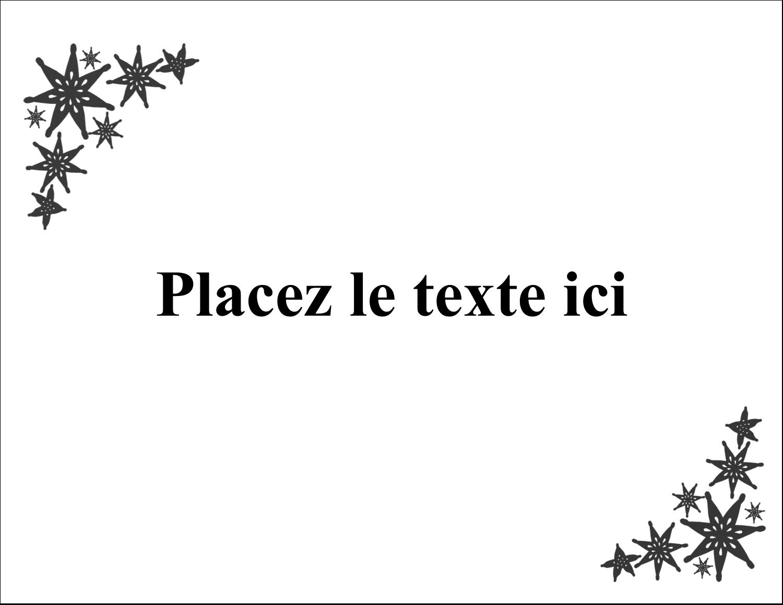 "4¼"" X 5½"" Carte Postale - Angle étoilé"