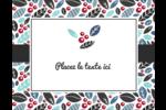 Feuillu Carte Postale - gabarit prédéfini. <br/>Utilisez notre logiciel Avery Design & Print Online pour personnaliser facilement la conception.