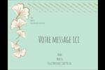 Ginkgo Carte Postale - gabarit prédéfini. <br/>Utilisez notre logiciel Avery Design & Print Online pour personnaliser facilement la conception.