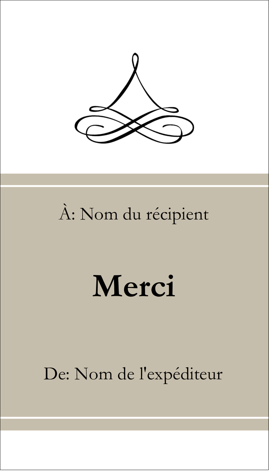 "2"" x 3½"" Carte d'affaire - Mariage simple"