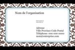 Tourbillons Carte d'affaire - gabarit prédéfini. <br/>Utilisez notre logiciel Avery Design & Print Online pour personnaliser facilement la conception.