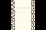 Tourbillons Carte Postale - gabarit prédéfini. <br/>Utilisez notre logiciel Avery Design & Print Online pour personnaliser facilement la conception.