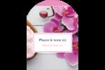 Glaçage et orchidée rose Étiquettes arrondies - gabarit prédéfini. <br/>Utilisez notre logiciel Avery Design & Print Online pour personnaliser facilement la conception.