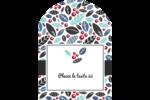 Feuillu Étiquettes rectangulaires - gabarit prédéfini. <br/>Utilisez notre logiciel Avery Design & Print Online pour personnaliser facilement la conception.
