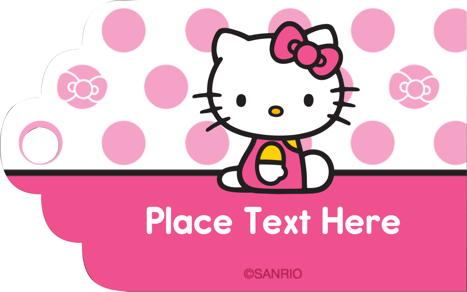"""2"""" x 1⅛"""" Printable Tags - Pretty in Pink"""