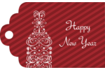 Let good cheer flow into projects with pre-designed Swirl Champagne Bottle templates.