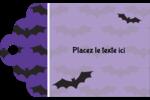 Chauves-souris d'Halloween Étiquettes imprimables - gabarit prédéfini. <br/>Utilisez notre logiciel Avery Design & Print Online pour personnaliser facilement la conception.