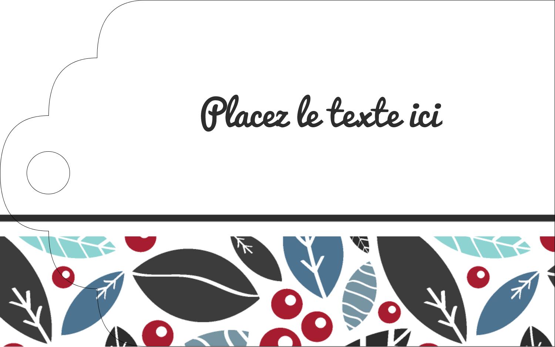 """2"""" x 1⅛"""" Étiquettes imprimables - Feuillu"""