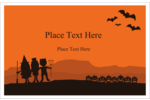 Set the scene for custom projects with pre-designed Halloween Kids templates.