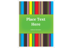 Add a fun blast of color to projects with pre-designed Any Business Stripes templates.