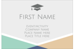 Give your project a preppy pep to its step with pre-designed Grad Colors templates.