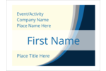 Personalize your professional projects with Blue Wave pre-designed templates.