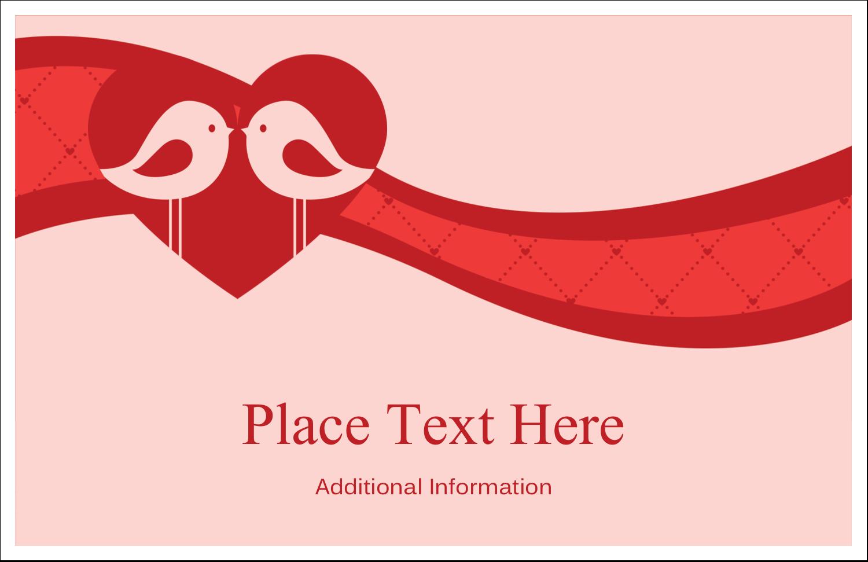 """5½"""" x 8½"""" Greeting Card - Love Birds"""