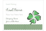 Add elegant style to custom projects with pre-designed St. Patrick's Shamrock templates.