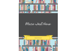 Borrow some smarts with this library books design.