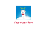 Add the fun of reindeer games to projects with pre-designed Red Nosed Dog templates.