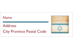 Infuse symbolism into custom projects with pre-designed Religious Star of David templates.