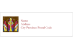 Bring reverent beauty to projects with pre-designed Religious Window Cross templates.