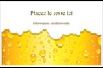Image de bière Cartes Et Articles D'Artisanat Imprimables - gabarit prédéfini. <br/>Utilisez notre logiciel Avery Design & Print Online pour personnaliser facilement la conception.