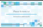 Carrés pixélisés Cartes Et Articles D'Artisanat Imprimables - gabarit prédéfini. <br/>Utilisez notre logiciel Avery Design & Print Online pour personnaliser facilement la conception.