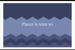 Chevron bleu Cartes Et Articles D'Artisanat Imprimables - gabarit prédéfini. <br/>Utilisez notre logiciel Avery Design & Print Online pour personnaliser facilement la conception.