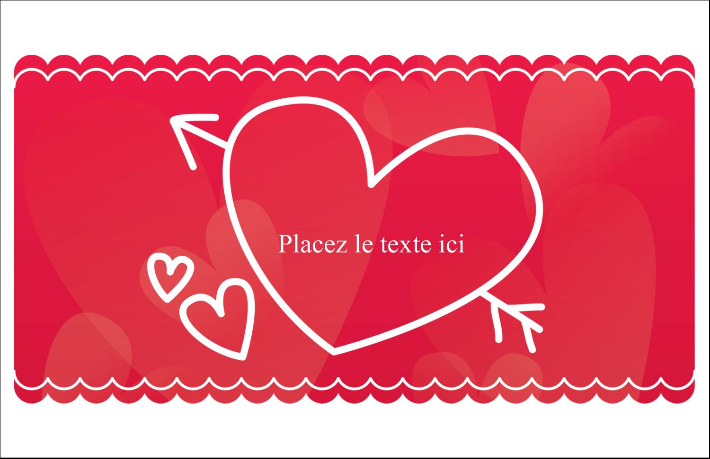 """8½"""" x 11"""" Cartes Et Articles D'Artisanat Imprimables - Dessin de la Saint-Valentin"""