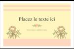 Dessin floral Cartes Et Articles D'Artisanat Imprimables - gabarit prédéfini. <br/>Utilisez notre logiciel Avery Design & Print Online pour personnaliser facilement la conception.