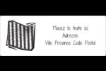 Toile d'araignée Beetlejuice Étiquettes d'adresse - gabarit prédéfini. <br/>Utilisez notre logiciel Avery Design & Print Online pour personnaliser facilement la conception.