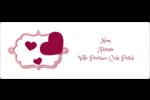 Bulles de Saint-Valentin Étiquettes d'adresse - gabarit prédéfini. <br/>Utilisez notre logiciel Avery Design & Print Online pour personnaliser facilement la conception.