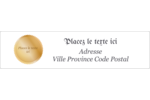 Diplôme d'études Étiquettes d'adresse - gabarit prédéfini. <br/>Utilisez notre logiciel Avery Design & Print Online pour personnaliser facilement la conception.