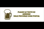 Image de bière Intercalaires / Onglets - gabarit prédéfini. <br/>Utilisez notre logiciel Avery Design & Print Online pour personnaliser facilement la conception.