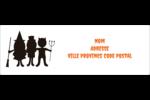 Enfants à l'Halloween Intercalaires / Onglets - gabarit prédéfini. <br/>Utilisez notre logiciel Avery Design & Print Online pour personnaliser facilement la conception.