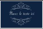 Romance Cartes de souhaits pliées en deux - gabarit prédéfini. <br/>Utilisez notre logiciel Avery Design & Print Online pour personnaliser facilement la conception.