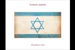 Étoile de David religieuse Cartes de notes - gabarit prédéfini. <br/>Utilisez notre logiciel Avery Design & Print Online pour personnaliser facilement la conception.