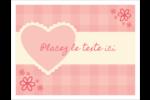 Guingan de la Saint-Valentin Cartes Et Articles D'Artisanat Imprimables - gabarit prédéfini. <br/>Utilisez notre logiciel Avery Design & Print Online pour personnaliser facilement la conception.
