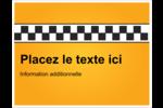 Échiquier taxi Cartes de notes - gabarit prédéfini. <br/>Utilisez notre logiciel Avery Design & Print Online pour personnaliser facilement la conception.