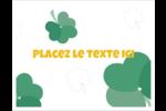 Trèfles en cœur de la Saint-Patrick Cartes Et Articles D'Artisanat Imprimables - gabarit prédéfini. <br/>Utilisez notre logiciel Avery Design & Print Online pour personnaliser facilement la conception.