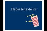 Popcorn et film Cartes Et Articles D'Artisanat Imprimables - gabarit prédéfini. <br/>Utilisez notre logiciel Avery Design & Print Online pour personnaliser facilement la conception.